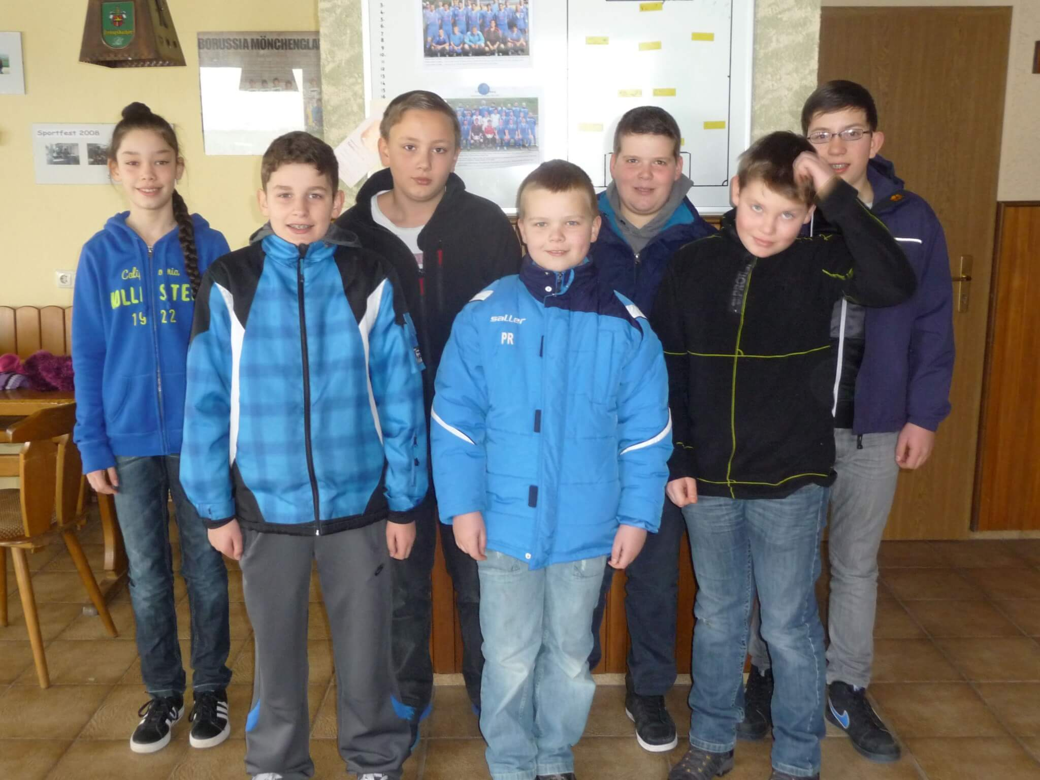 Jugendvorstand SV Niederburg