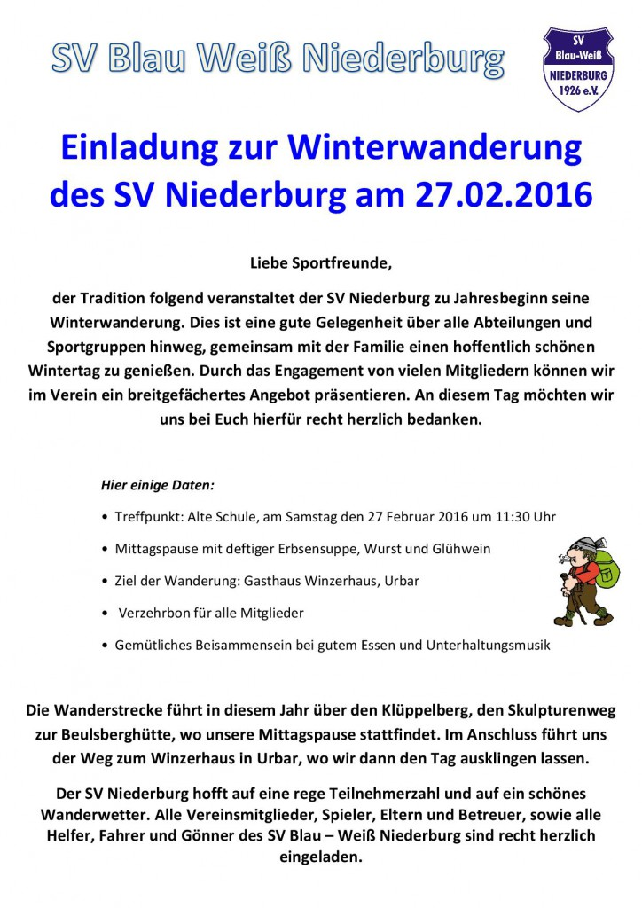 Flyer Winterwanderung Internet